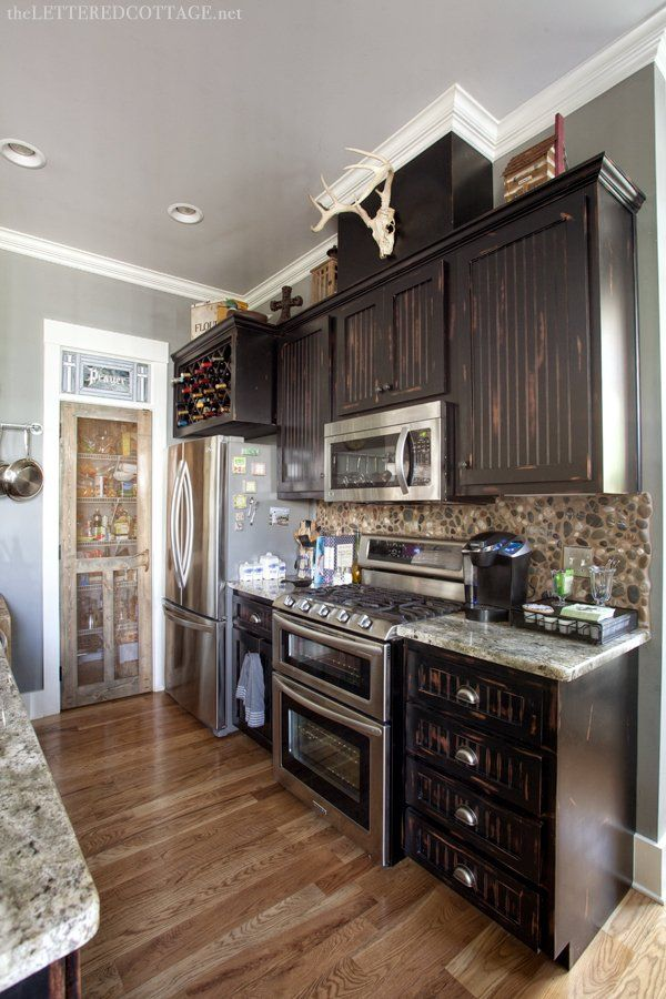 From The Lettered Cottage Blog Love The Colors In This Kitchen Dream House Pinterest