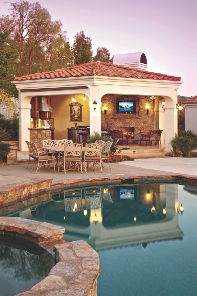 Image result for partially enclosed cabana | Outdoor Kitchens ... on furnished house, aluminum house, wrapped house, buried house, ford house, dump house, packed house, stored house, protected house, inside a house, heated house, storage house,