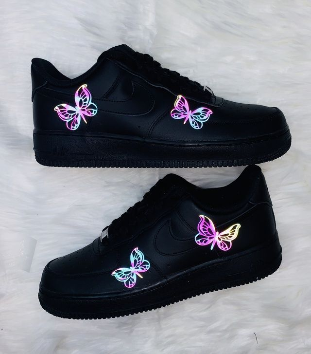 3M Lightning Air Force 1 Custom Sneakers #Air #Custom