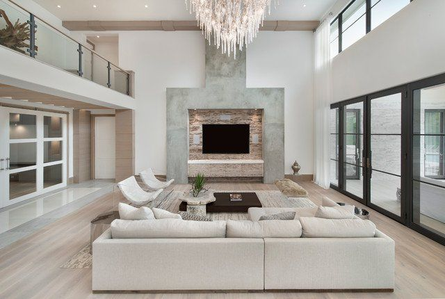 19 Adorable Medium Sized Living Rooms In Contemporary Style Modern White Living Room Minimalist Living Room Decor White Living Room Decor