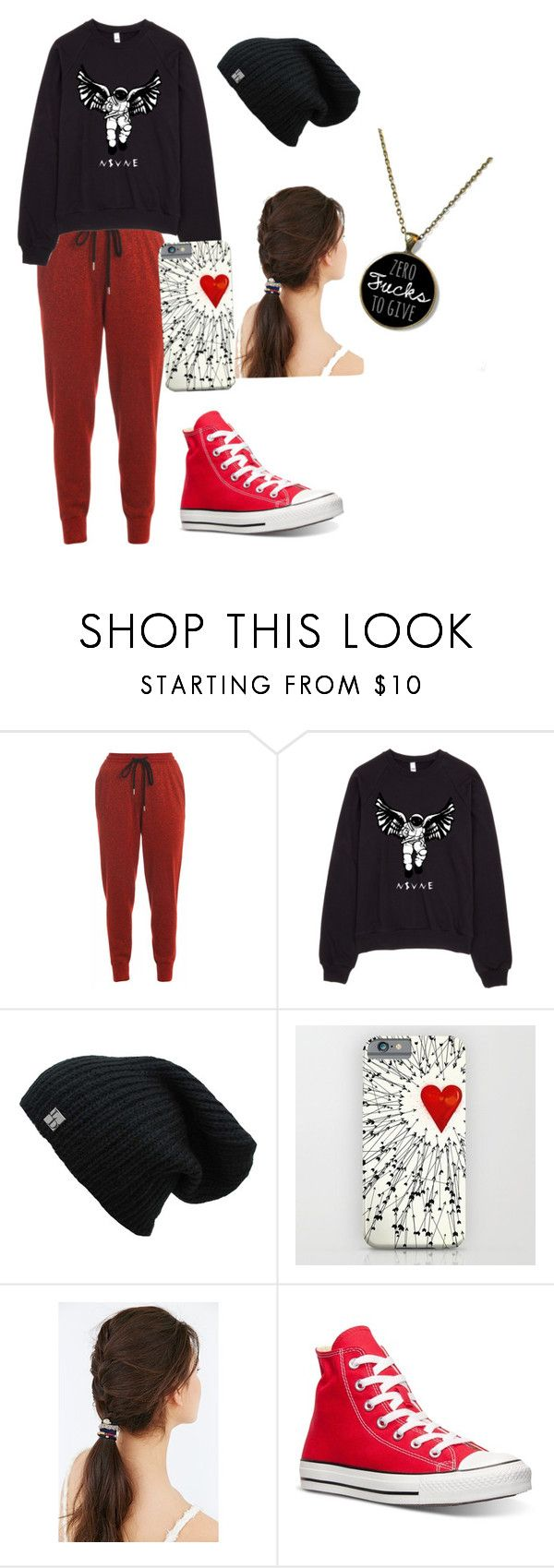 """""""A day out"""" by forgetable on Polyvore featuring Markus Lupfer, JEM and Converse"""
