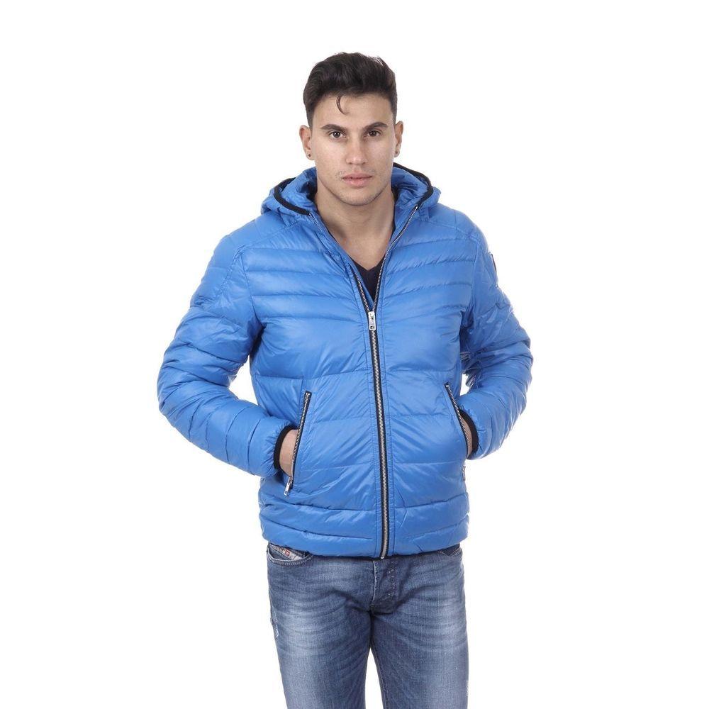 Mens jacket light blue - Diesel Men S Hooded Puffer Jacket Light Blue Diesel Puffer
