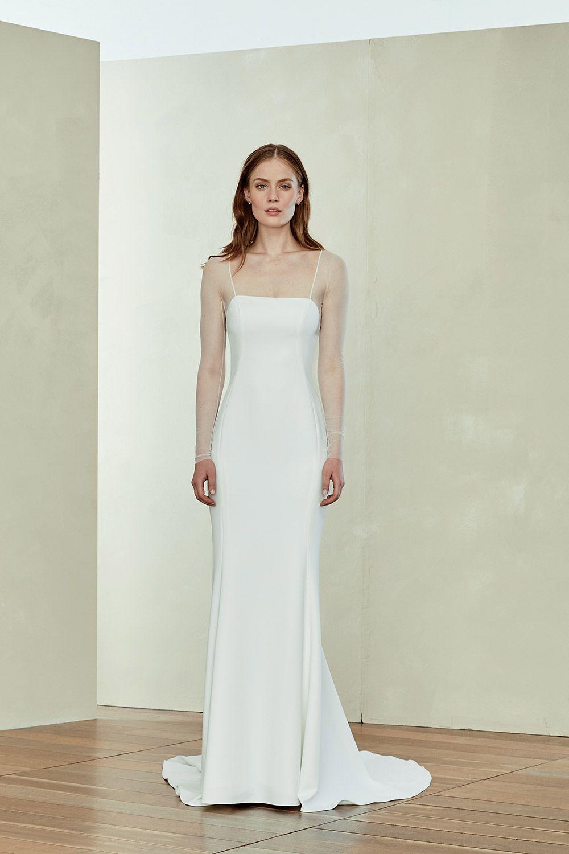 Miri In 2020 Classic Wedding Gowns Wedding Dress Sleeves White