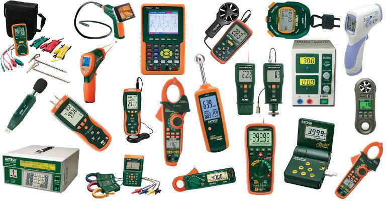 Instrumentos Extech para inspeccionar, testers en Intrave