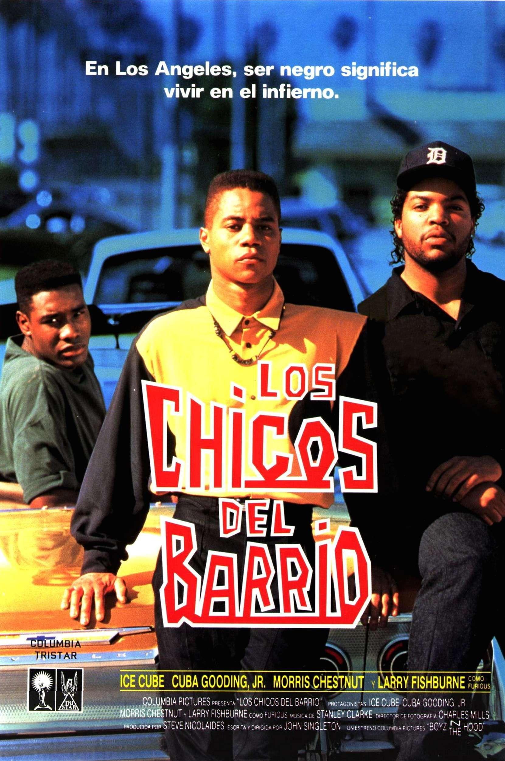 Los Chicos Del Barrio Morris Chestnut Movie Posters Nia Long