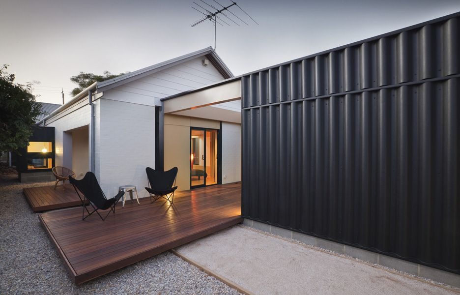 This Extension To An 80s Era House Is Designed According To A