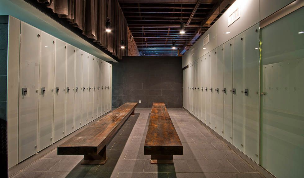 Locker Room Design Ideas Part - 26: Health Club Locker Room Design | ... Favorite International Country Club  And Resort Locker Rooms | Yoga Studio U0026Spa Design | Pinterest | Lockers,  Room And ...