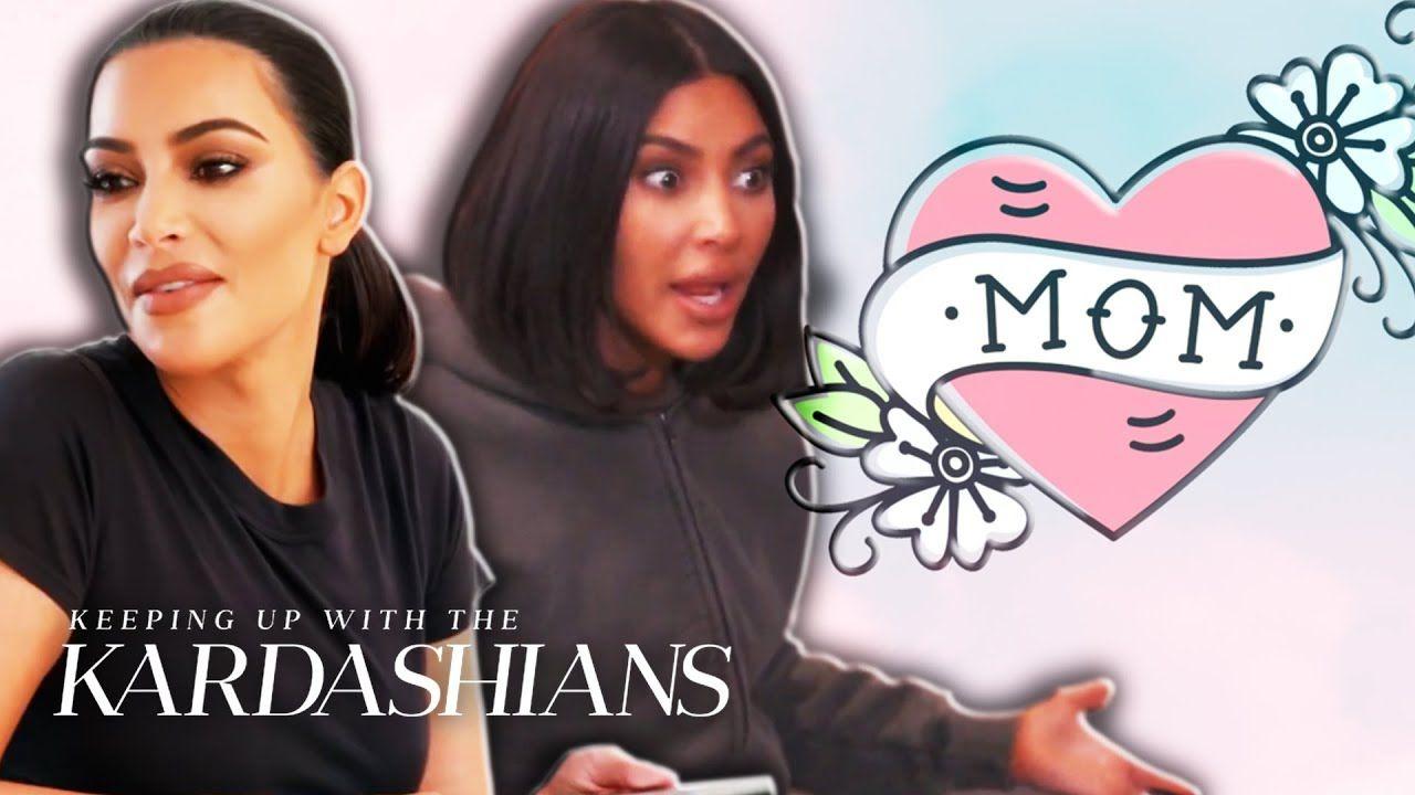 Kim Kardashian West's Mommy 101 Moments | KUWTK | E!