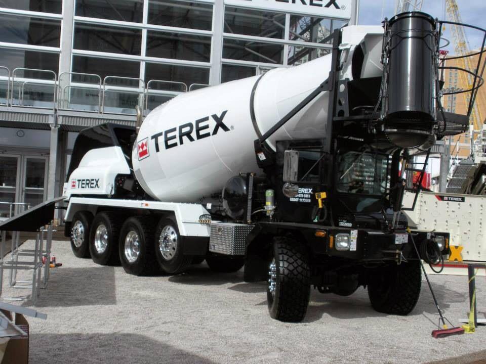 New Terex Front Discharge Concrete Mixer | VEHICLEs | Cement