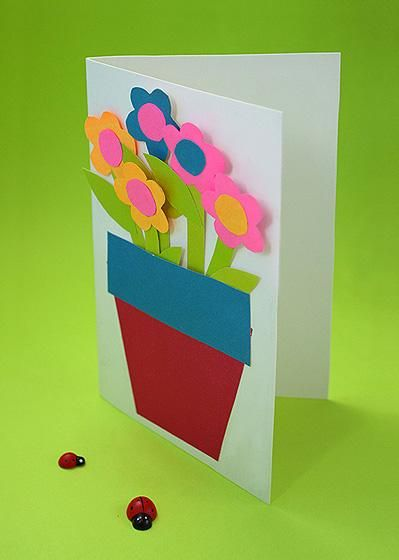 Craft Ideas For Kids Card Ideas Kids Cards Summer Crafts For