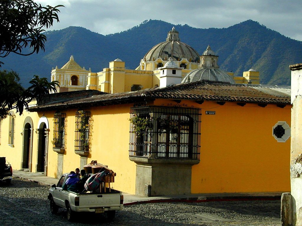 musicians in Antigua | in Antigua street , Guatemala | Flickr - Photo Sharing!