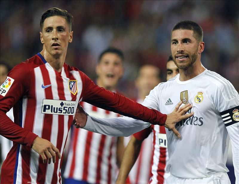 Fernando torres Sergio ramos (With images) | Sport soccer
