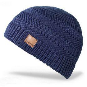Как связать мужскую шапку спицами: схема и подробное описание вязания. Модель шапки с зигзагообразным узором для любимого мужчины.