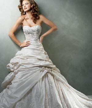 3e34c3ef97ef Maggie Sottero Sabelle White Lace Wedding Dress, One Shoulder Wedding Dress,  Queen Dress,
