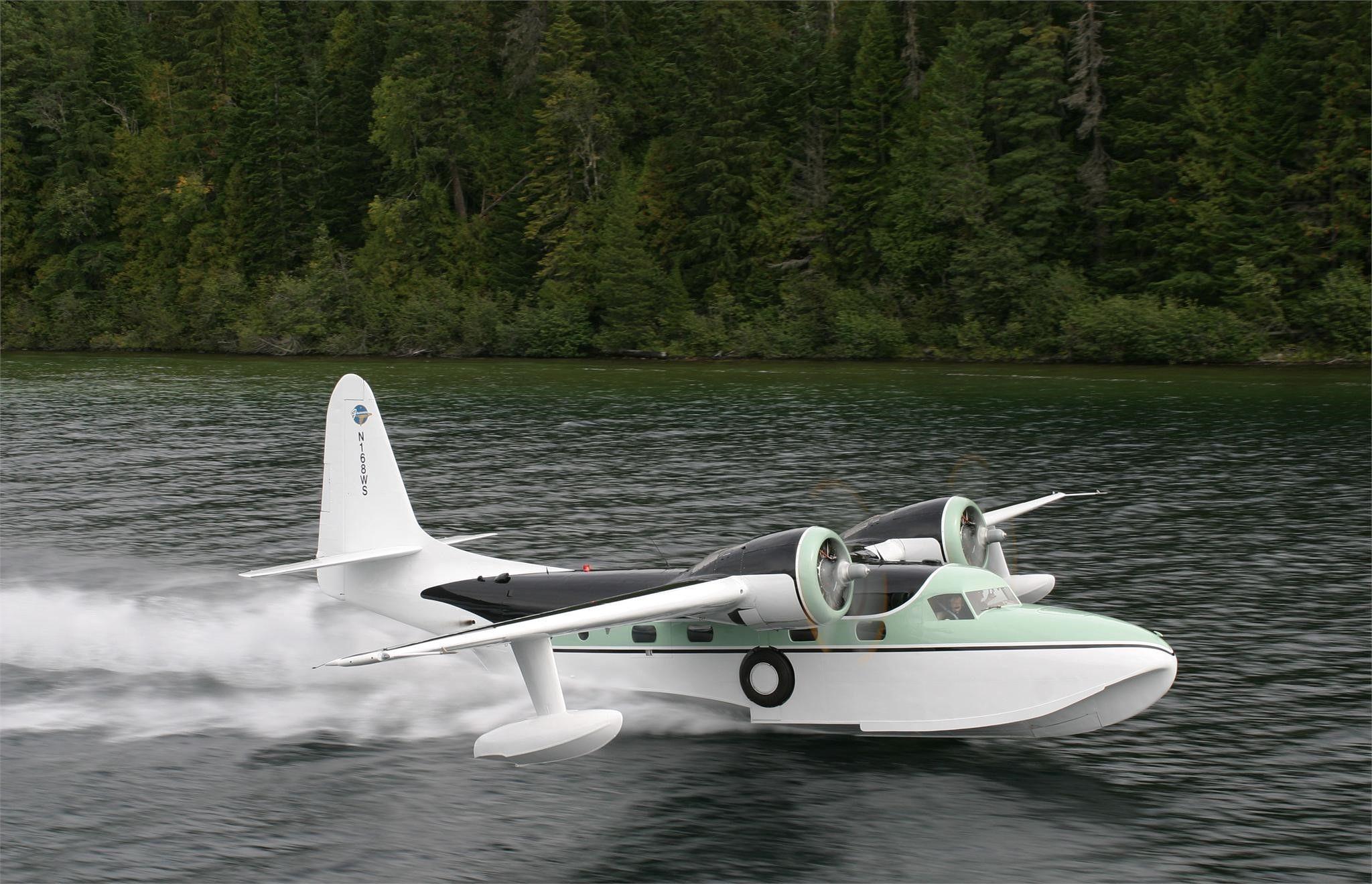 Grumman mallard flying boat vintage aircraft old planes