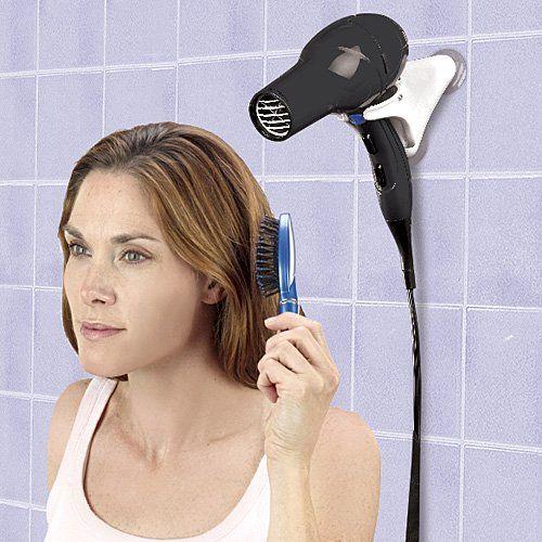 Hands Free Hair Dryer Holder BY JUMBL JUMBL™ http://www.amazon.com/dp/B0082BQQV6/ref=cm_sw_r_pi_dp_07Iywb051PTGE