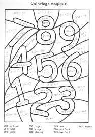 Coloriage Magique En Anglais.Resultat De Recherche D Images Pour Chiffres Maternelle Idees