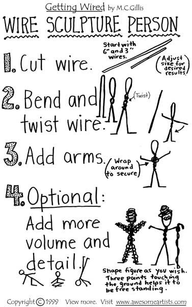 Getting Wired Learn Basic Wire Sculpture Techniques Page 5 Wire
