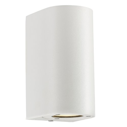 Nordlux Canto Maxi 2 Light Outdoor Flush Mount Nordlux Wall Lights White Wall Lights