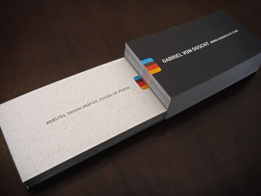 Black Business Cards Inspiration - 22 Sweet Examples | Black ...