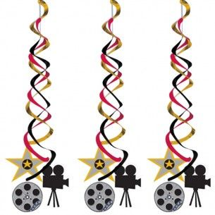 Reel Hollywood Party Deluxe Danglers