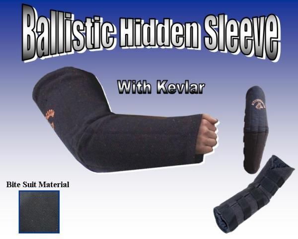 Ballistic Or Bite Suit Hidden Sleeve Dog Equipment Ballistics