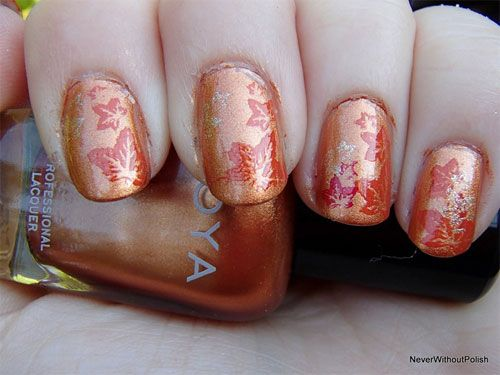 Latest Autumn Nail Art Designs Trends Fashion For Girls 2013 2014