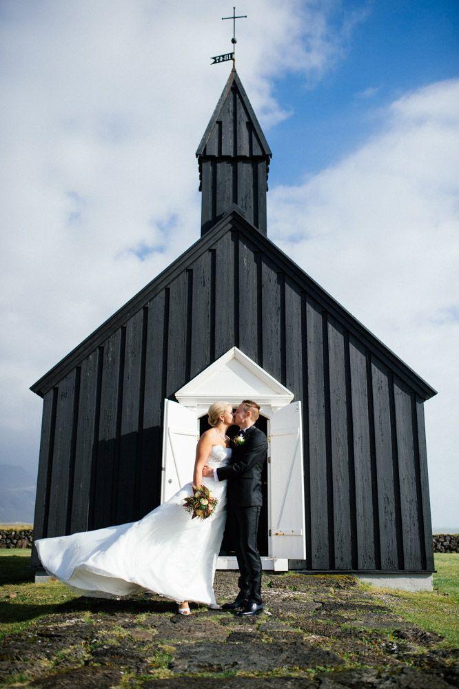 A Wedding At Búðir In Iceland