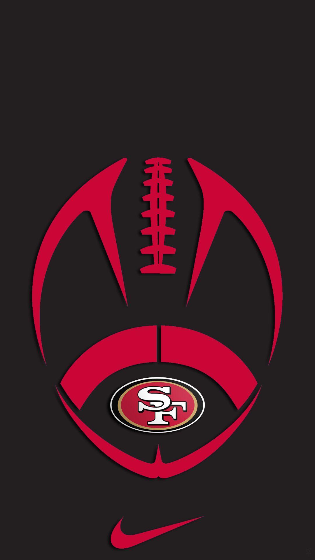 Pin By Jennifer Bubp Reid On 49ers San Francisco 49ers Logo Atlanta Falcons Wallpaper San Francisco 49ers