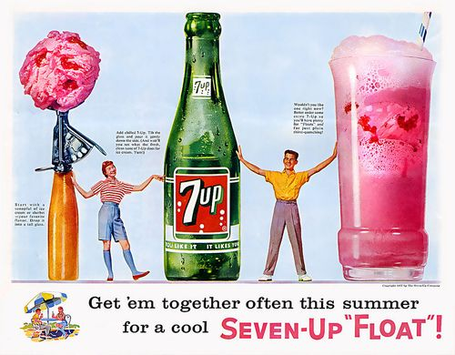 7-Up ad [1957]