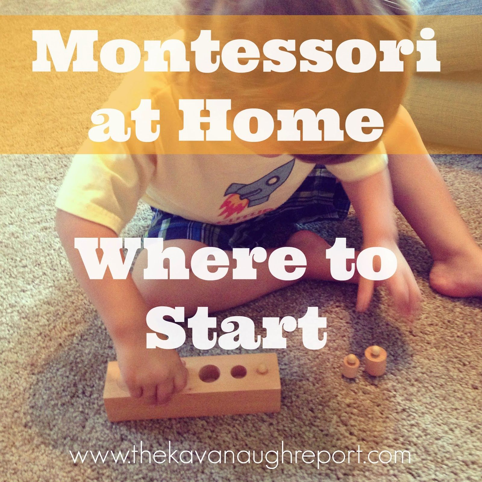 Montessori at Home -- How to Start