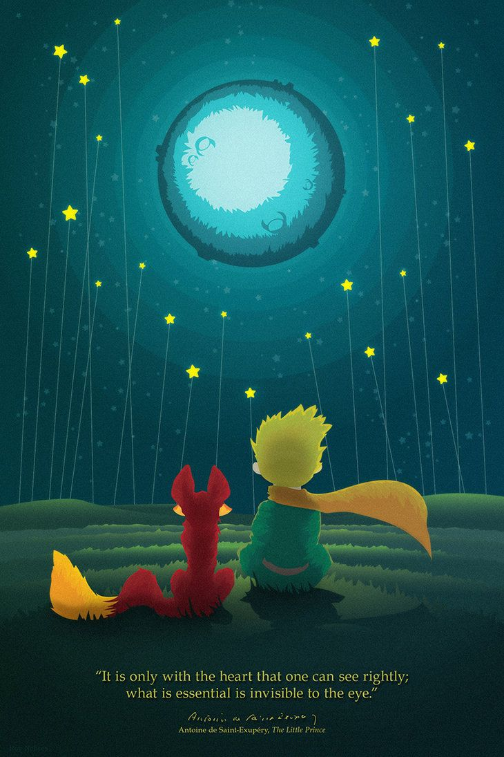 The Little Prince By Blackcrow03 Citacoes Do Pequeno Principe