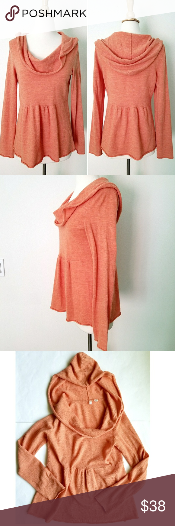 Anthropologie Sweater | Hooded cowl, Cowl neck and Anthropologie