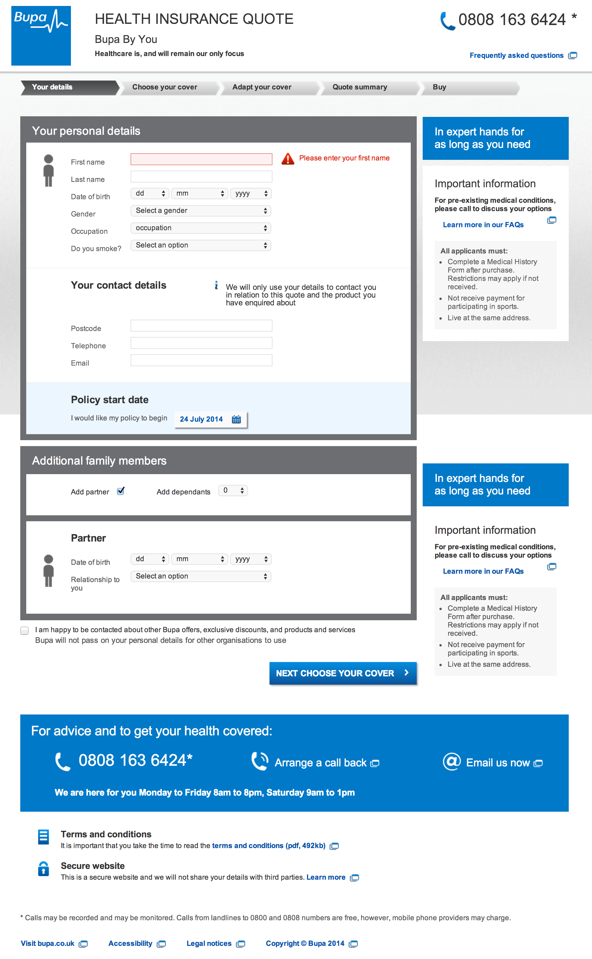 Progressive Insurance Telephone Number >> Best Practice Form In All Respects Error Handling