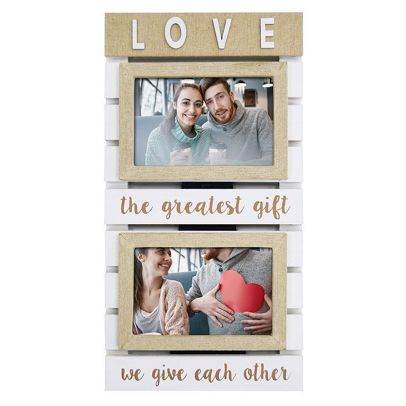 New View Love 2 Opening 55 X 35 Collage Frame Multicolor