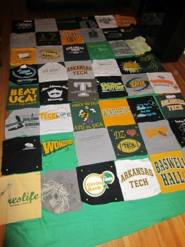 Pat Wants A T Shirt Quilt Good Tutorial But Use Fusible