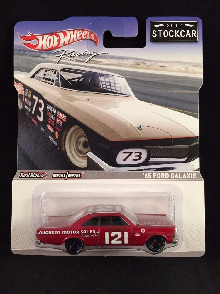 2012 Hot Wheels Racing Stockcar 65 Ford Galaxie Augusta Motor