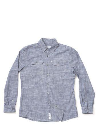 Men's Classic Chambray Work Shirt - Indigo