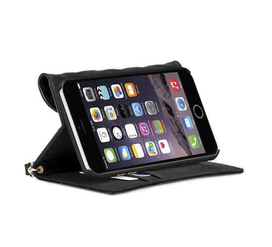 size 40 3361e c7011 Case-Mate Rebecca Minkoff iPhone 6 Plus Quilted Folio Case | Tech ...