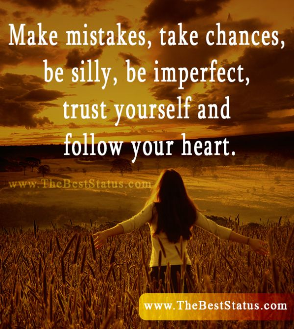 Follow Your Heart Meaningful Words Pinterest Quotes Your