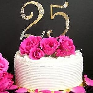 4 Romantic Tips For 25th Wedding Anniversary 25th Wedding Anniversary Cakes Wedding Anniversary Wishes Silver Wedding Anniversary Cake
