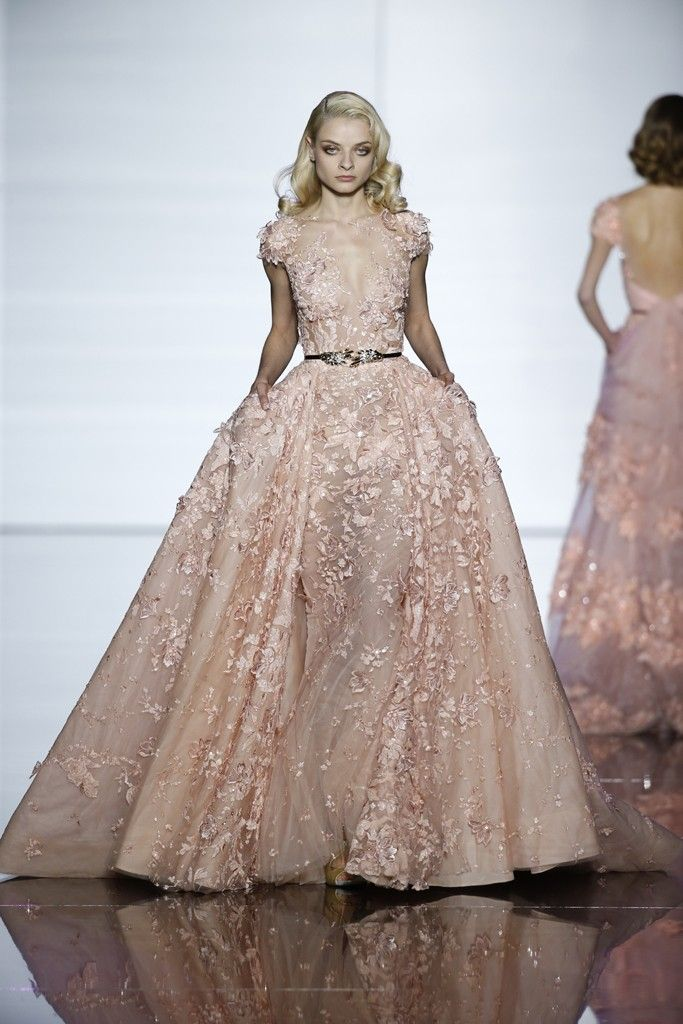 Zuhair Murad Couture Spring 2015 Gowns Dresses Beautiful Dresses