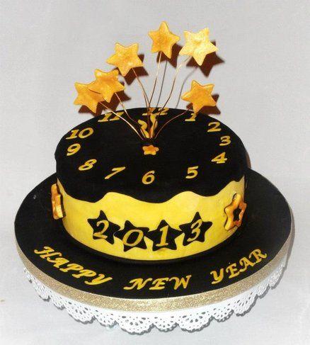 New Year S Day Cake : New year cake Fancy Cakes 2 Pinterest Cake ...
