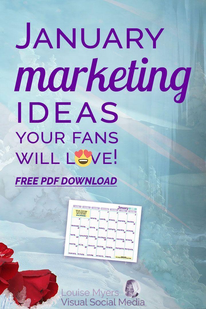 Juicy January Marketing Ideas to Rock 2020 FREE Download