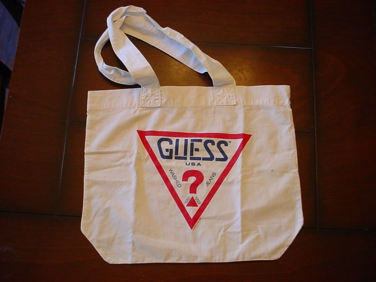Vintage 80s Guess tote bag | Guess handbags, Tote bag, Bags