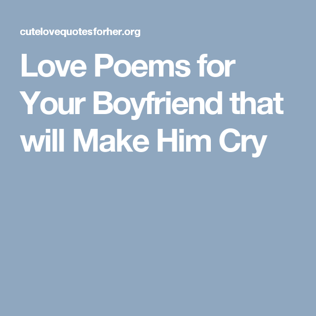 Pin On Love Poems