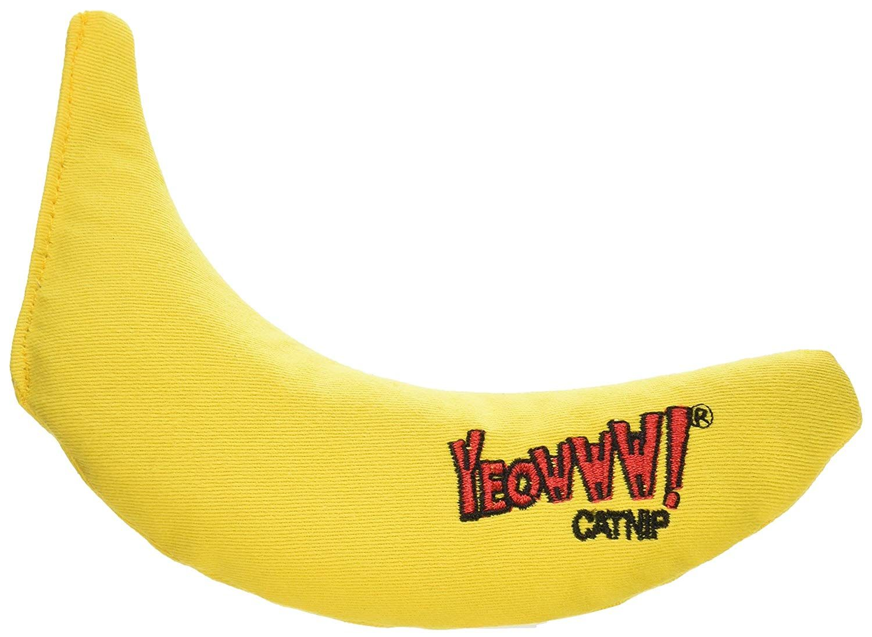 Yeo catnip toy yellow banana we appreciate you for having