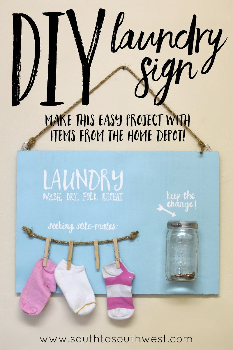 Laundry Signs For Home Diy Laundry Sign  Laundry Signs Signs And Laundry