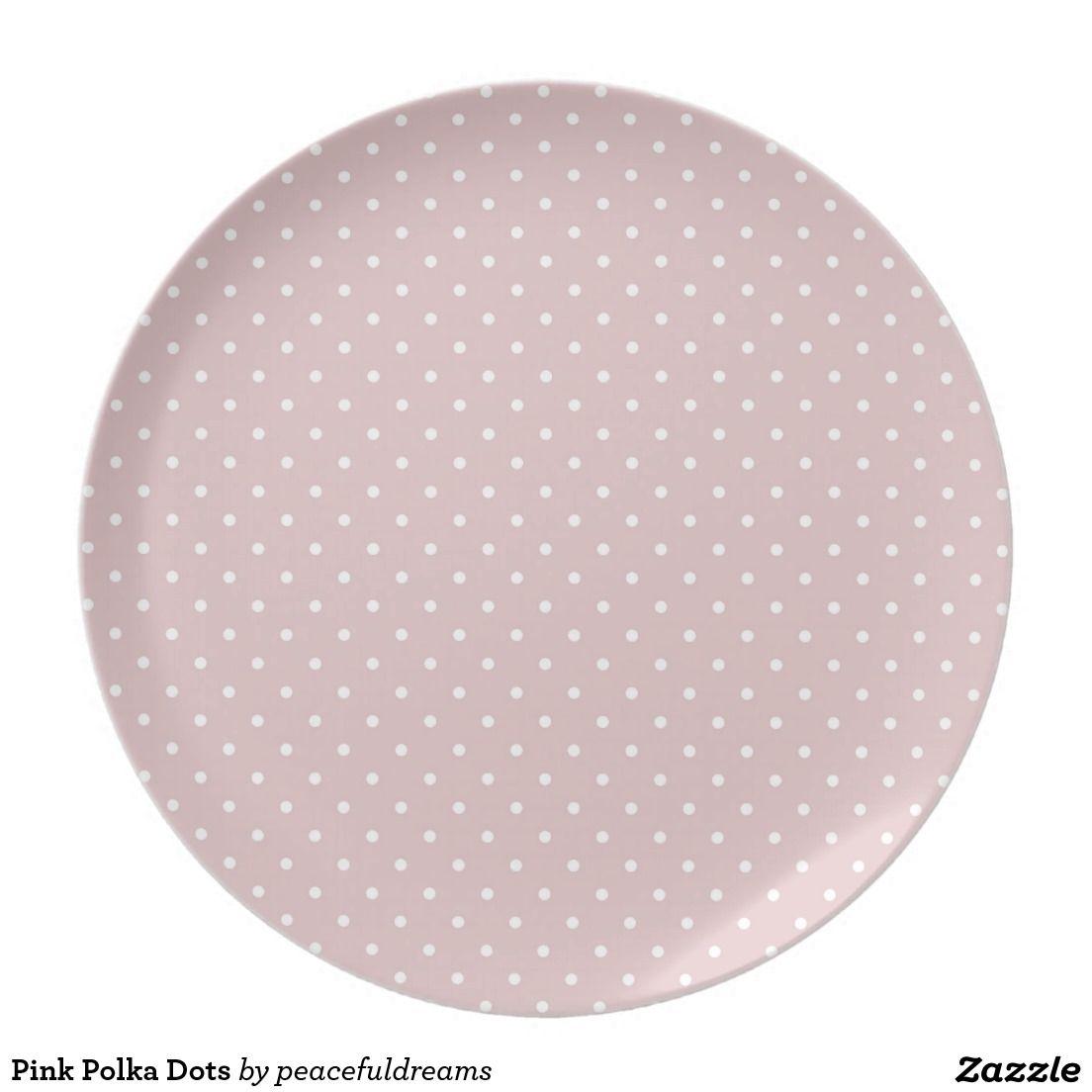 Pink Polka Dots Party Plates Polka Dot Party Plates Pink Plates Polka Dot Party