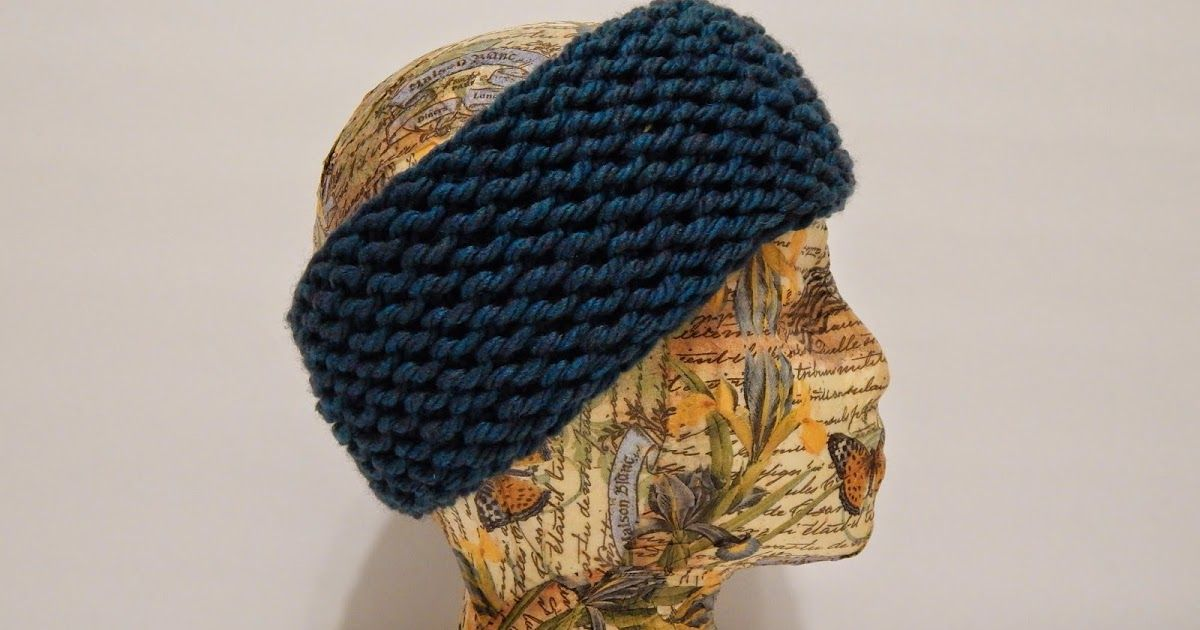 Hey everyone! Here is a pattern for a super quick and easy headband ...